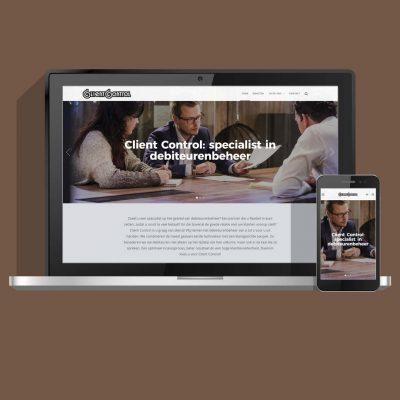 Nieuwe website, ontwerp en ontwikkeling voor ClientControl