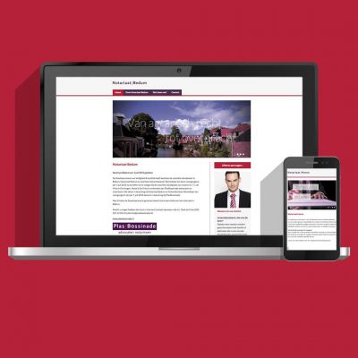 Website laten maken, website ontwerp en bouw voor PlasBossinade advocaten en notarissen