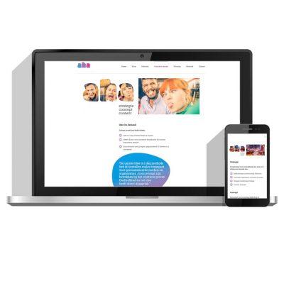 Website ontwikkeling voor Aha Creative | Wepsaait Webdesign